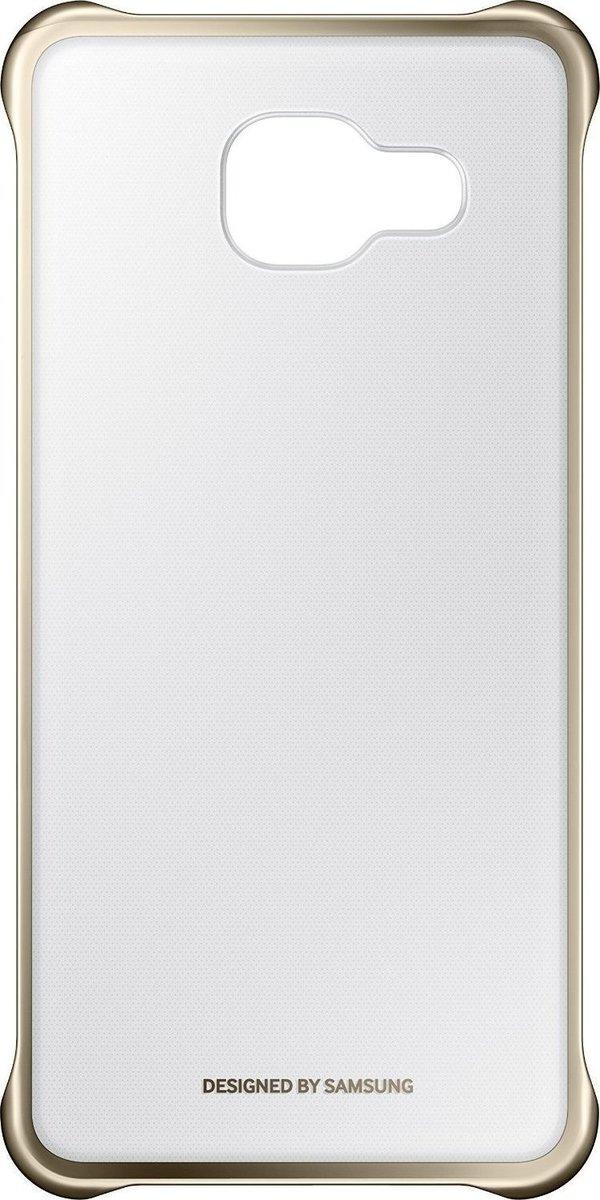 Original Case Samsung EF-QA510CFE Clear Cover Galaxy A5 (2016) Gold | FixMobile Store