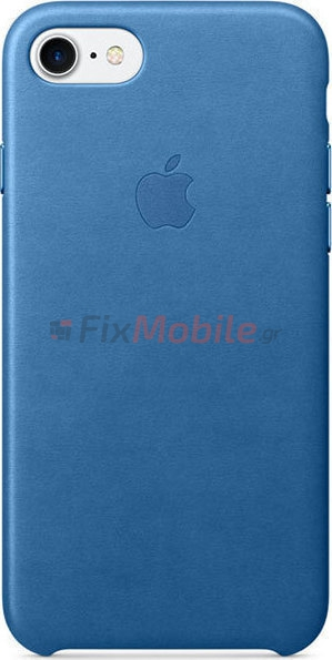 timeless design 628a2 3a104 Original Case Apple iPhone 7 Leather Sea Blue MMY42ZM (iPhone 7 ...
