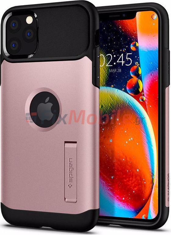 Spigen Slim Armor Iphone 11 Pro Max Rose Gold 075cs27049 Fixmobile