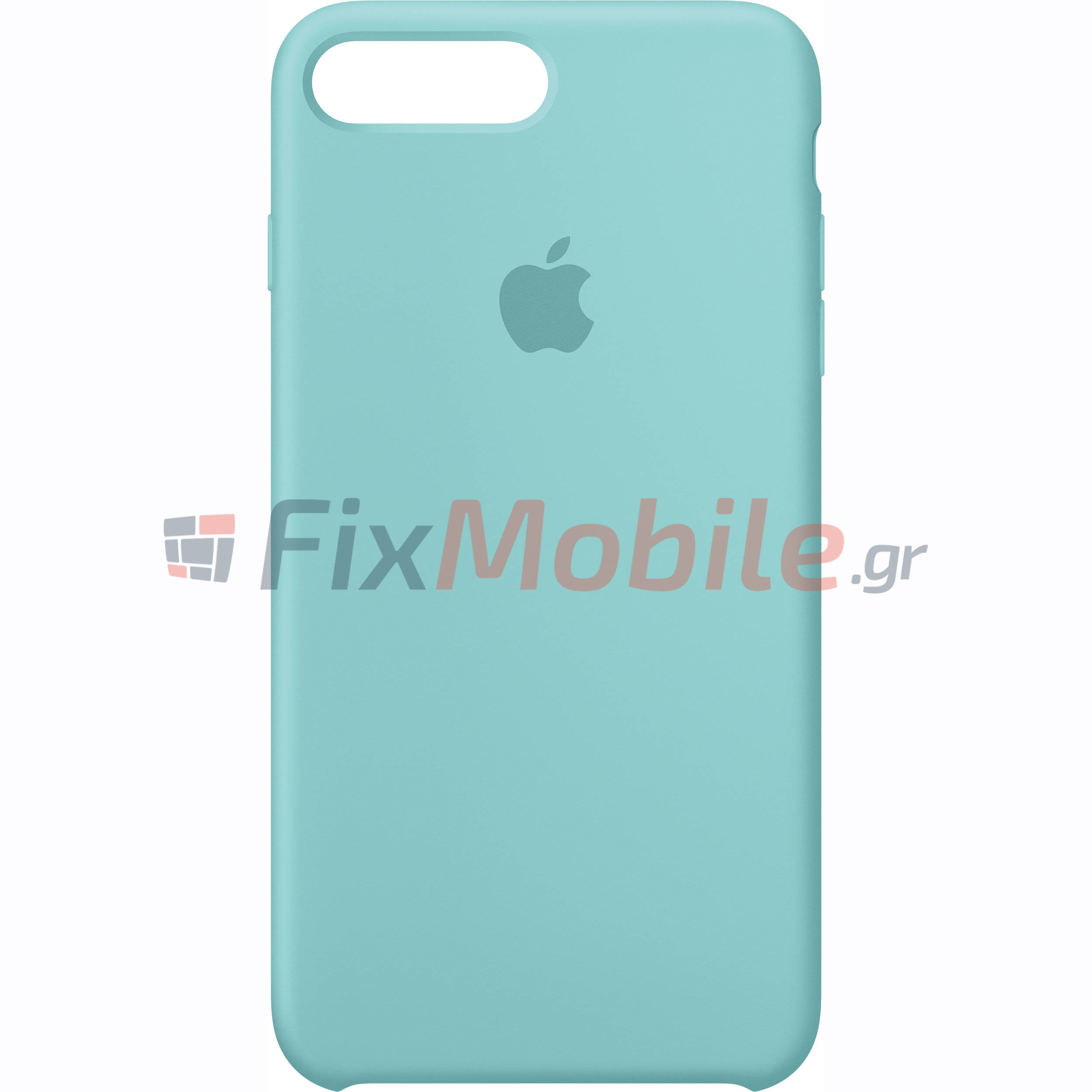 low priced 08e65 94717 Original Silicone Case Apple Sea Blue MMQY2ZM (iPhone 7 Plus ...